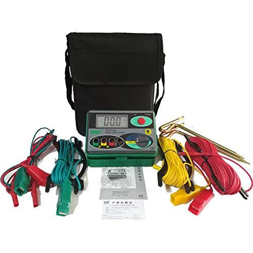 DUOYI Ground Digital Insulation Resistance Meters, 0-2000 Ohm DCV ACV Meter Megohmmeter Megohm