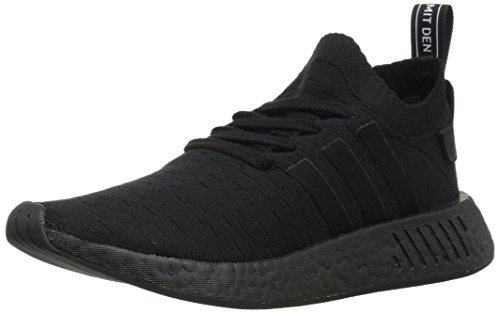 adidas Originals Women's NMD_R2 PK W Running Shoe, Black, 5 M US
