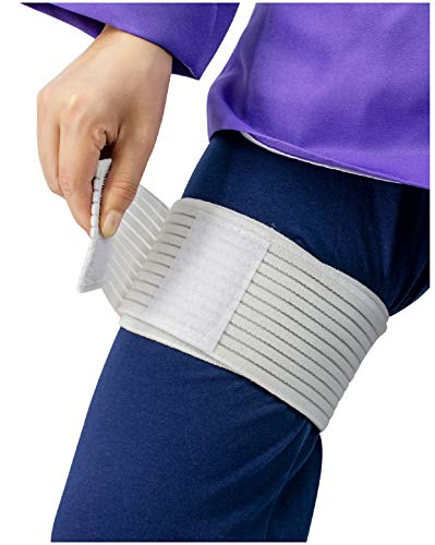DAZCOS Cosplay Bandage for Hinata Kakashi Uzumaki Costume Accessories (White)