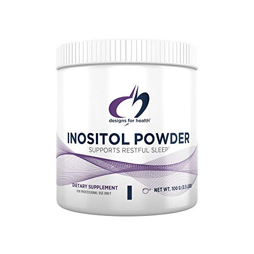 Designs for Health Inositol Powder - Pure 700mg Inositol Supplement to Help Promote Relaxation, Restful Sleep + Female Hormonal Health - Non-GMO + Gluten Free, Easy Drink Add-in (138 Servings / 100g)