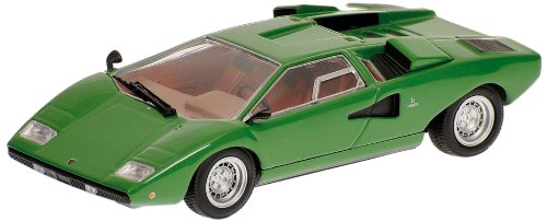 Minichamps 1/43 Lamborghini Countach LP400 1970 (Green) (japan import)