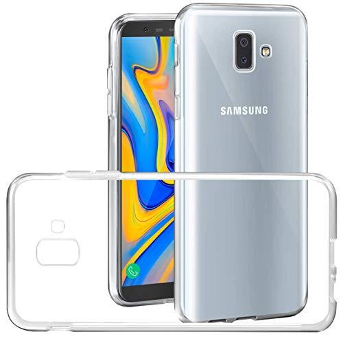 Capa para Samsung Galaxy J6 Plus 2018, Cell Case, Capa Protetora Flexível, Transparente