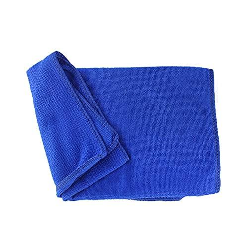 MARSPOWER Asciugamano per autolavaggio Asciugamano per la Pulizia dell auto Asciugamano per asciugare l orlo Dettagli del Tessuto per la Cura dell auto Asciugamano per autolavaggio - Blu 30 * 30 cm
