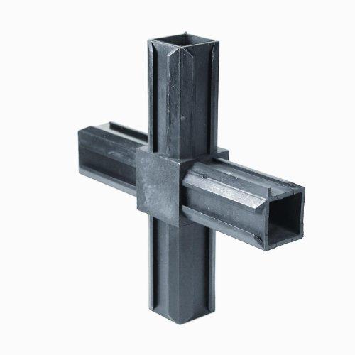 GAH XD-Rohrverbinder Kreuzstück, für Rohre 20x20x1,5mm