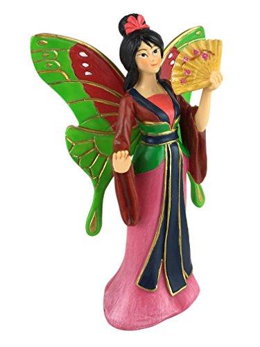 Hada en miniatura Kiara la Hermosa Hada Asiática para tu Jardín de Hadas / Jardín en Miniatura