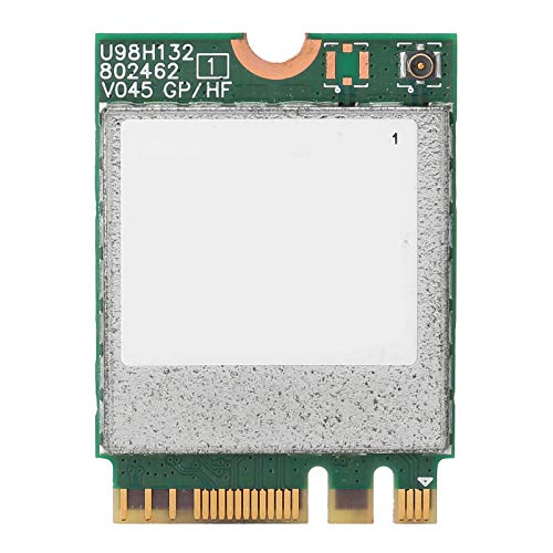 PUSOKEI Tarjeta de Red inalámbrica, NGFF Adaptador de Red inalámbrico AC 7260 de Doble Banda, Tarjeta de Red inalámbrica Wi-Fi + Adaptador Combinado BT4.2 para Win7 / 8/10