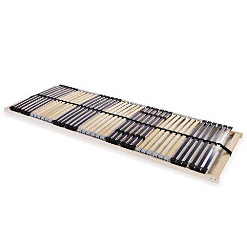 HUANGDANSP Somier de láminas con 42 Listones de 7 regiones 90x200 cm Mobiliario Camas y Accesorios Camas y somieres