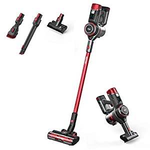 Ewbank EW3040 AIRSTORM1 3-in-1 Cordless Pet Stick Vacuum Cleaner, Power Saving Auto Dust Sensor Technology, Lightweight & Powerful, Brushless DC Motor & LED Control Panel