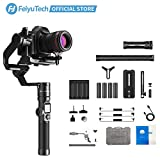 FeiyuTech AK4000 Gimbal 3-Axis Handheld Camera Stabilizer Fits Canon/Nikon/Sony/Panasonic DSLR Camera,Max Payload 4.0KG/8.8lb