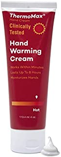 Sponsored Ad - ThermoMax Hot, Boston Topical's Natural Hand Warming Cream, Soothes Foot Discomfort, Moisturizes Dry Skin, ...