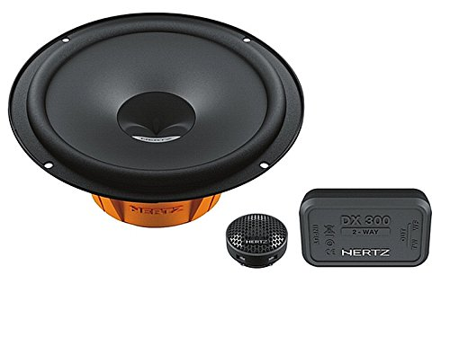 Hertz Auto Speaker Component Systeem 320 Watt Ford Fiesta MK6 Face Lift 10/05/08 Montage Positie Voordeuren/hind: – -