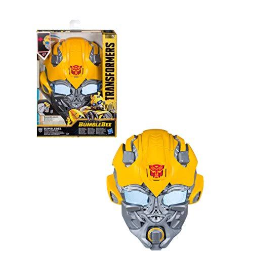 Transformers Saga - Casque électronique modulateur de Voix Bumblebee - Jeu d'imitation