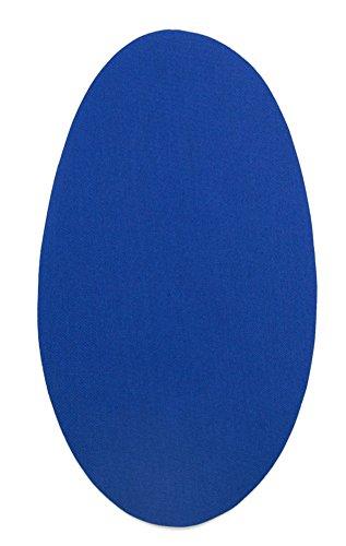 Haberdashery Online 6 Rodilleras Color Azulón termoadhesivas de Plancha. Coderas para Proteger tu Ropa y reparación de Pantalones, Chaquetas, Jerseys, Camisas. 16 x 10 cm. RP2