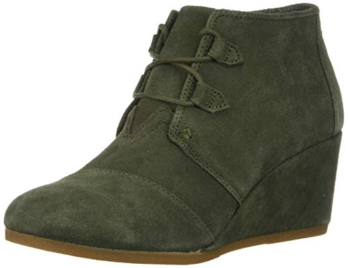 TOMS Women Kala, Botas Slouch para Mujer, Verde (Dusty Olive 000), 37 EU