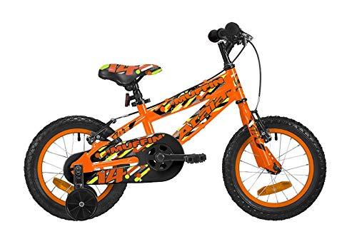 ATALA Bicicletta da Bambino Muffin 14', Colore Arancio Fluo
