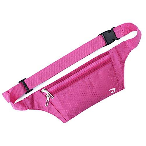 Extérieur Taille Pack, parfait pour hommes et femmes, Rose/Rouge/CL (21 * * * * * * * * 12 * * * * * * * * 0.3 cm)