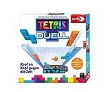Noris 606101799 – Tetris Duell, el Juego de Estrategia uno-uno para Grandes y pequeños, a Partir de 6 años