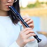 Flauta Abs Flauta Clarinete Flauta Soprano Larga Flauta Barroca Accesorios Flauta Flauta Digitación Suministros Musicales Instrumento