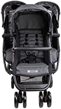 ZOE XL3 Best Triple Stroller – Everyday Compact Travel Stroller – Lightweight Collapsible Triplet Umbrella Stroller