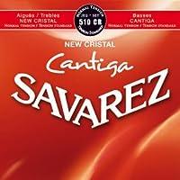 SAVAREZ 510CR NEW CRISTAL nomal tension/tension standard サバレス クラシックギター弦【国内正規品】