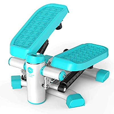 Home LCD Stepper, Aerobic Fitness Swing, Mini Weight Loss Machine Foot Massager Fitness Equipment, Suitable for All Fitness Groups