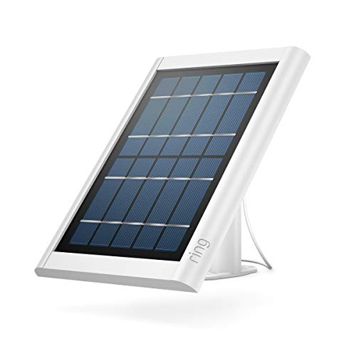 Ring Super Solar Panel  Compatible with Ring Spotlight Cam Battery and Stick Up Cam Battery  White