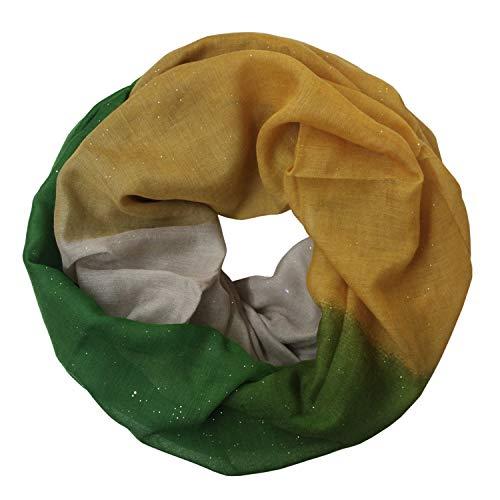 Glamexx24 Damessjaal Lange ronde ronde sjaal voor alle seizoenen met verschillende kleuren en patronen