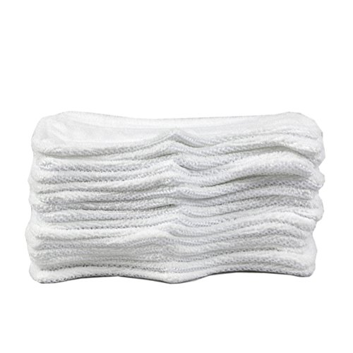 Blue HomeDay 6 Packs Washable Mop Replacement Pads for Shark Vacuum Steam S3101 S3101n2 S3250 S3251 SK460 SK410 SK435CO SK140 SK141 Parts