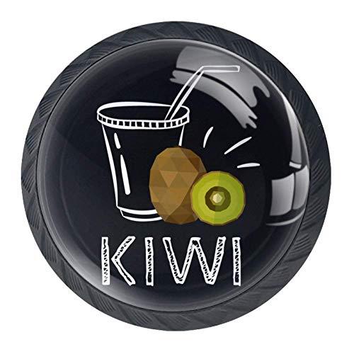 Ronde ladeknoppen, 4 pakjes 35mm Trekhendels met mango-sap, gebruikt voor slaapkamer dressoir kast keukendeur