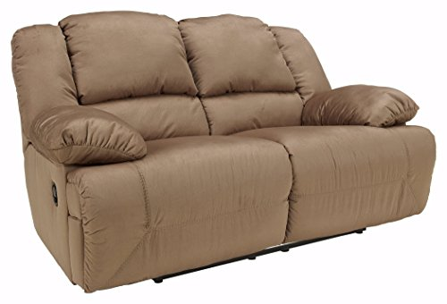Signature Design by Ashley - Hogan Contemporary Microfiber Reclining...