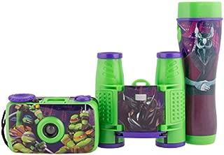 Sakar Nickelodeon Teenage Mutant Ninja Turtles 3-Piece Adventure Kit - Style May Vary