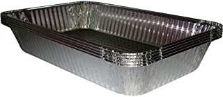 Catering Essentials, Full Size Disposable Foil Steam Table Pan (Pack of 15) for Roasting or Steaming