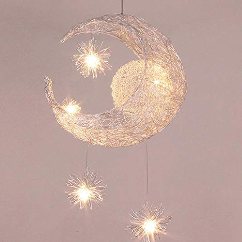 ZONA Moderne minimalistische LED-Leuchter-Lampen-Mond-Stern ...