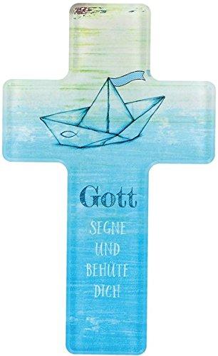 Gott segne und behüte dich: Kreuz aus Acryl-Glas