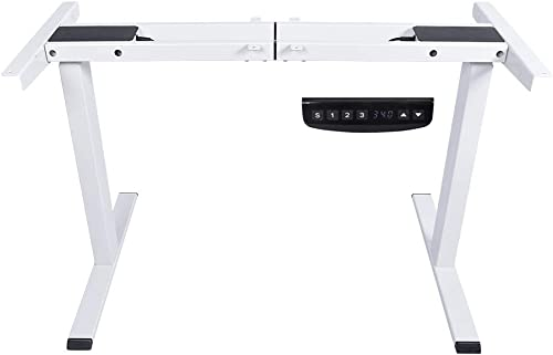 new arrival Dual Motor Electric Stand Up Desk new arrival Frame Workstation Height Adjustable Sit Standing Desk with 3 Memory Preset Controller for Home online sale and Office outlet online sale