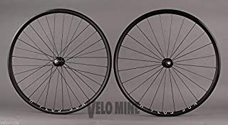 H Plus Son Archetype Rims Black Phil Wood Track hubs Fixed Gear Bike Wheelset