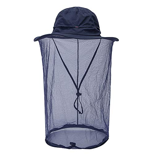 Peicees Mosquito Head Net Hat, Fishing Hat Safari Hat Sun Bucket Hat...