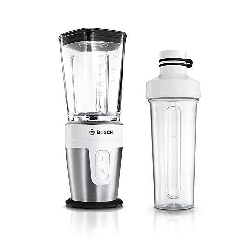 Bosch MMBM7G2M VitaStyle Mixx2Go Batidora de vaso, 350 W, 0,6 litros, color blanco