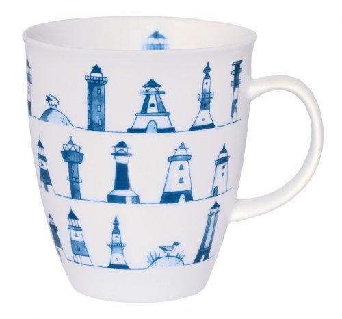 CUP+MUG Becher Leuchtturm Porzellan