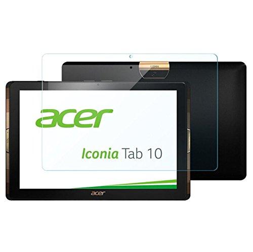 Lobwerk Antireflex Folie für Acer Iconia Tab 10 A3-A40 10.1 Zoll Display Schutz Tablet One