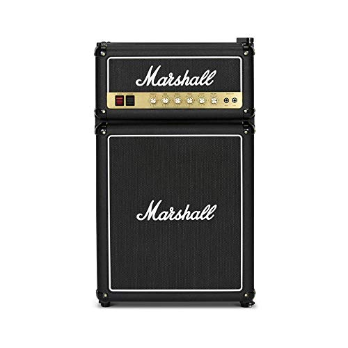 Marshall MF3.2 MF32BLKNA 3.2 Cubic-Foot Medium-Capacity Bar Fridge, Black