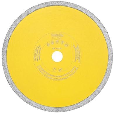 Foto di Ausonia - Disco diamantato a corona continua per ceramica e gres porcellanato. Altezza 10 mm, foro 22,2, spessore corona 1,2, diametro 115