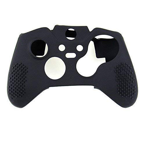 OSTENT Capa protetora macia de borracha de silicone para controle de Xbox One Elite, cor preta