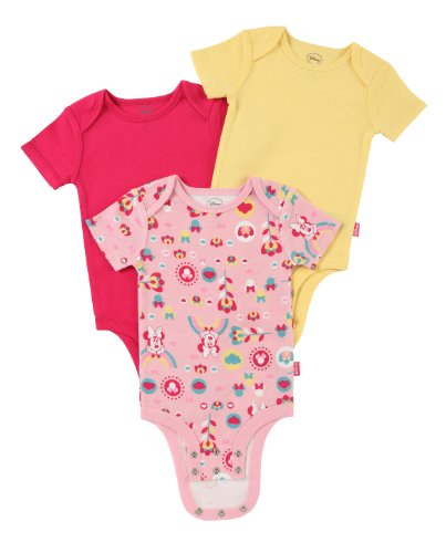 Disney Cuddly Bodysuit with Grow an Inch Snaps, Minnie Mouse