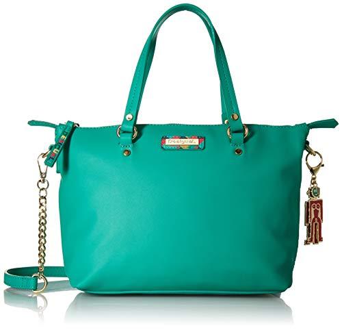 Desigual Colorama Gela Across Body Bag Verde Loro