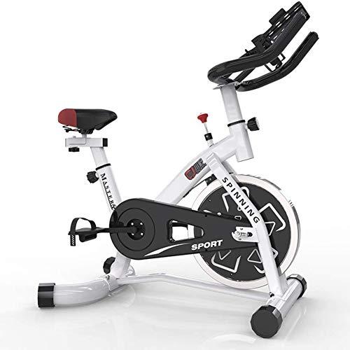 SEMOPAWA - Bicicleta de entrenamiento para el hogar, bicicleta estática, equipamiento deportivo, dispositivo de entrenamiento aeróbico, se puede ajustar de acuerdo con su propia