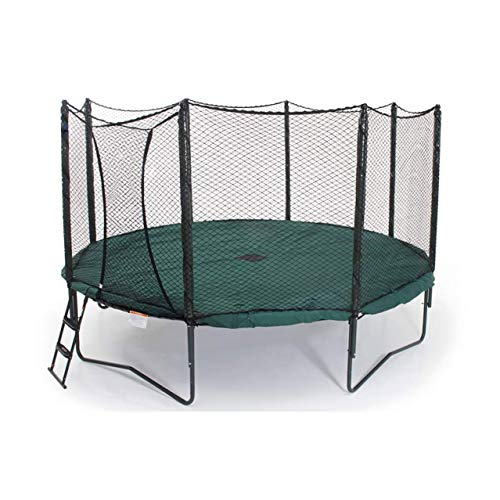 JumpSport 14 Foot Round Protective PVC Coated Trampoline...