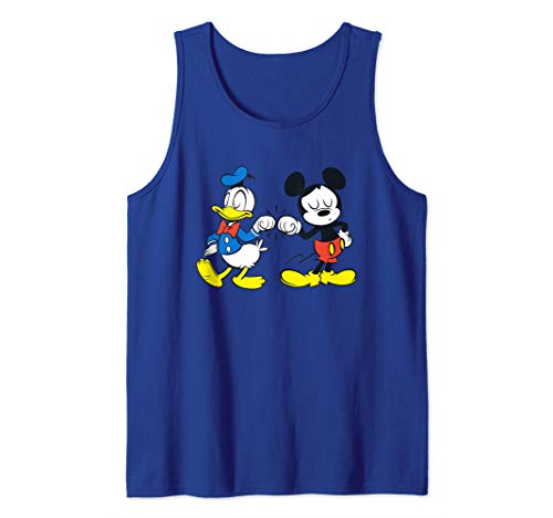 Disney Mickey Mouse and Donald Duck Best Friends Tank Top