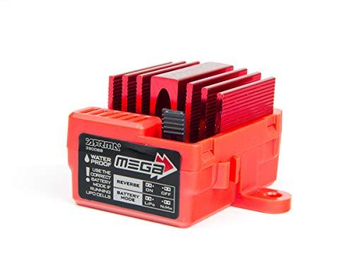 Arrma AR390068 Mega 2013 12T Brushed ESC, Red