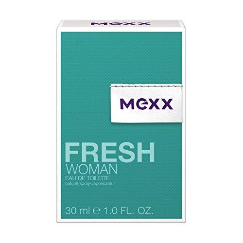 Mexx Fresh Woman Eau de Toilette Natural Spray, Frisches Damen Parfüm mit fruchtigen Nuancen, 1er Pack (1 x 30 ml)